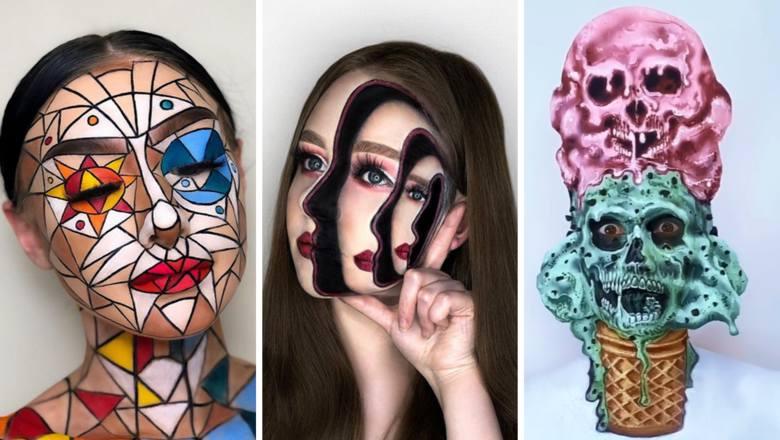 Straszne? Zachwycające? Obok tych makijaży na Halloween nie przejdziesz obojętnie! GALERIA