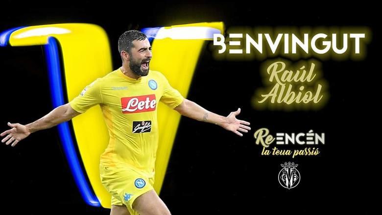 Raul Albiol wrócił z Serie A