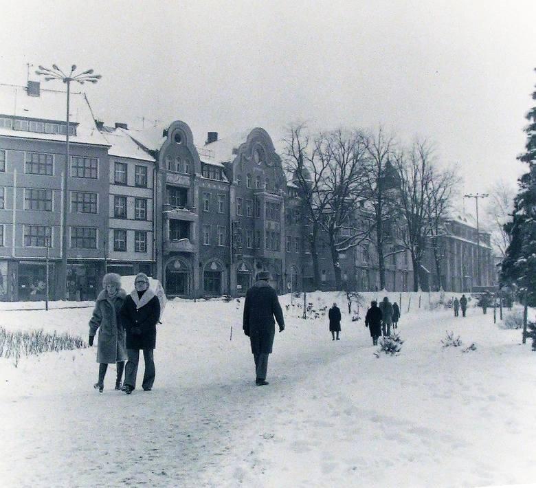 Park pomiędzy ul. A. Łajming i Starzyńskiego na przełomie 1978/79