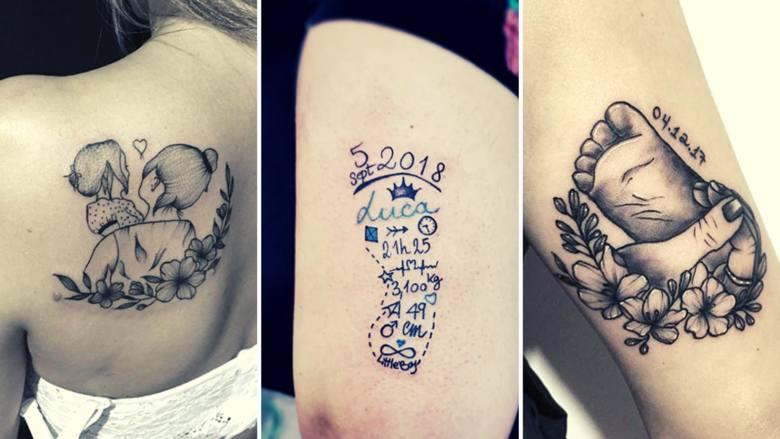 Podkreślenie roli macierzyństwa tatuażem jest coraz częstszym wyborem wielu kobiet, a pomysłów na to jest co nie miara. Tatuaż z imieniem dziecka wydaje