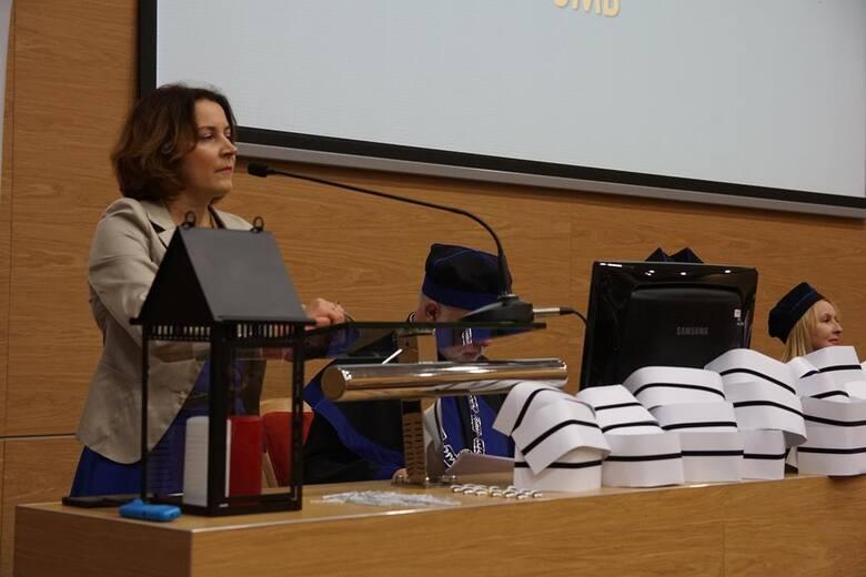Dr Barbara Bebko, certyfikowana doradczyni laktacyjna i naczelna pielęgniarka z USK w Białymstoku.