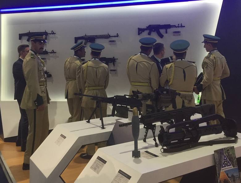 Karabinki szturmowe z Radomia cieszyły się dużym zainteresowaniem wojskowych z różnych krajów Bliskiego Wschodu.