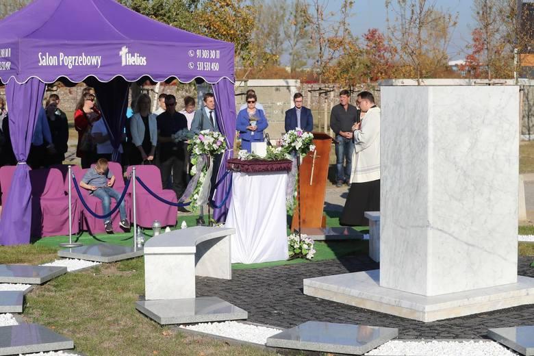 To był już drugi pogrzeb dzieci utraconych w Szczecinie [ZDJĘCIA]