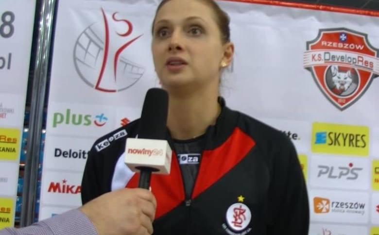 Zuzanna Efimienko: Jeszcze do końca nie wierzę, że wygrałyśmy w Rzeszowie [WIDEO]
