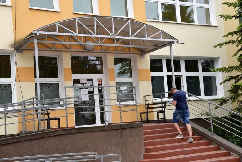Maj 2020 r. Szpital Uniwerystecki w Zielonej Górze.