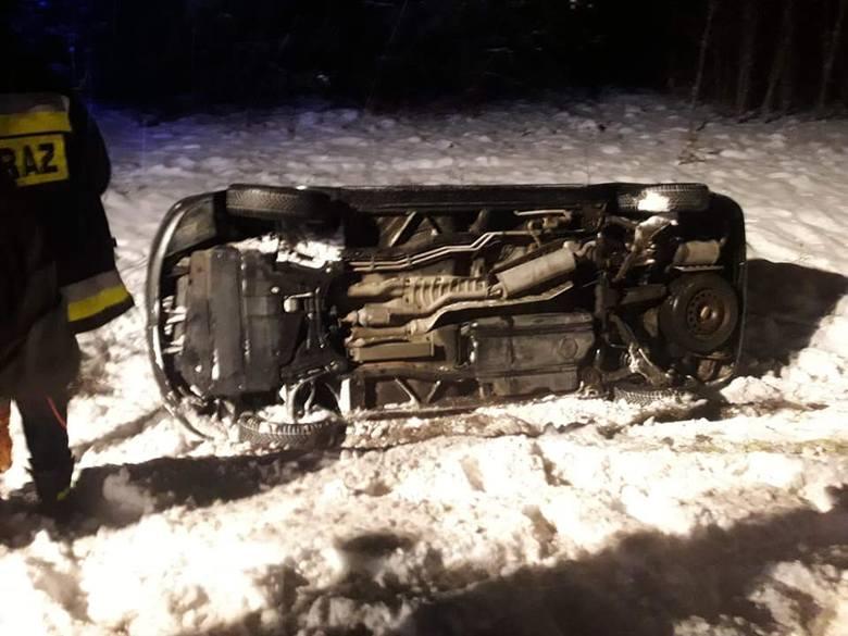 Do niebezpiecznego wypadku doszło w sobotę po godzinie 18.