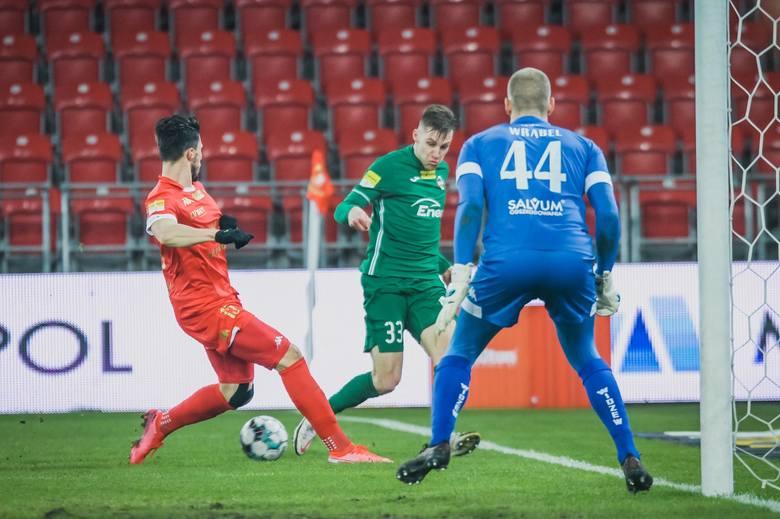 Fortuna 1 Liga. Zdjęcia z meczu Widzewa Łódź z Radomiakiem Radom, który zakończył się remisem 1:1