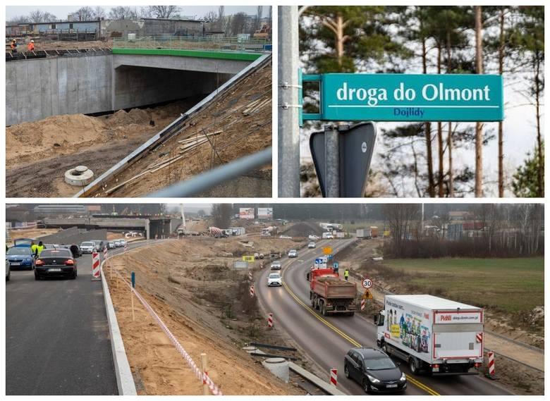 Jeszcze w tym roku zakończyć ma się budowa węzła Porosły i przebudowa ul. Klepackiej. W miejskich planach jest też modernizacja drogi do Olmont. To oznacza,