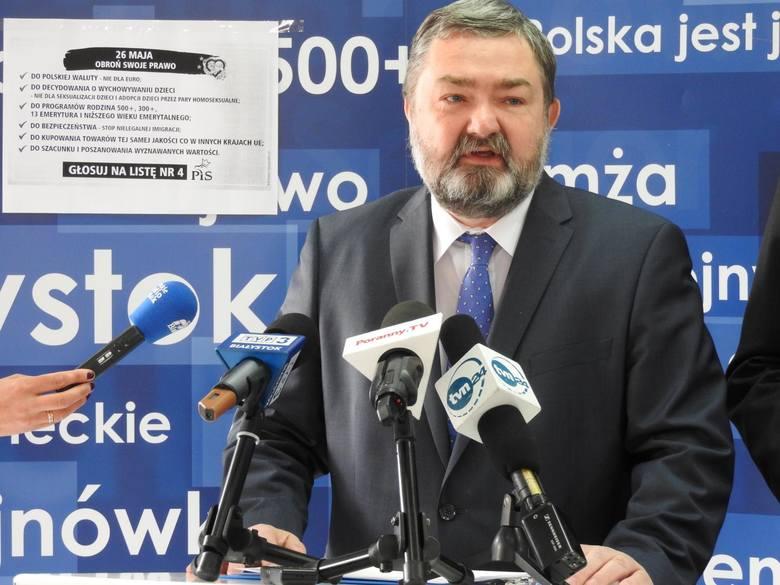 Wybory do Parlamentu Europejskiego. PiS rozpoczyna akcję: obroń swoje prawo. W tle euro, 500 plus, wartości chrześcijańskie