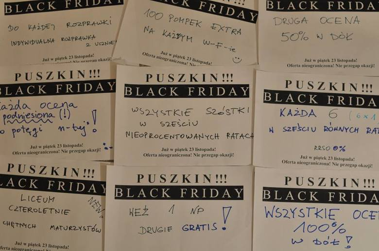 Black Friday, czyli dzień wielkich wyprzedaży, promocji i okazji przypada w tym roku na 23 listopada. Do światowej, wyprzedażowej akcji postanowili dołączyć