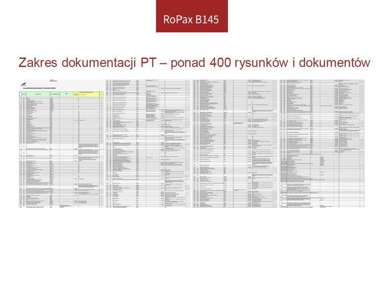 Budowa promu w Szczecinie. Prezentacja stanu projektu