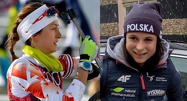 Monika Hojnisz (z lewej) i Kamila Żuk