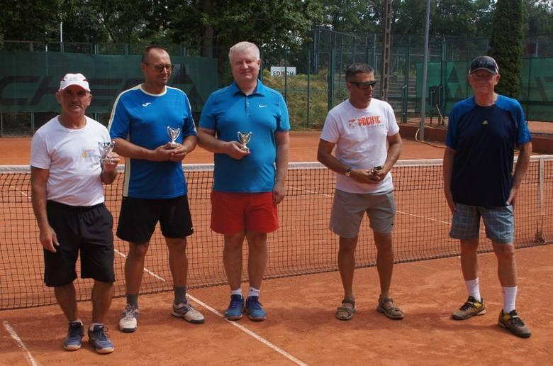 Tenisiści seniorzy walczyli na kortach Budowlanych Lublin (ZDJĘCIA)