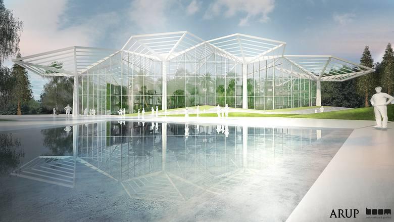 Dwa lata temu krakowska firma Arup stworzyła projekt modernizacji sosnowieckiego Egzotarium. Tak będzie wyglądało Egzotarium.