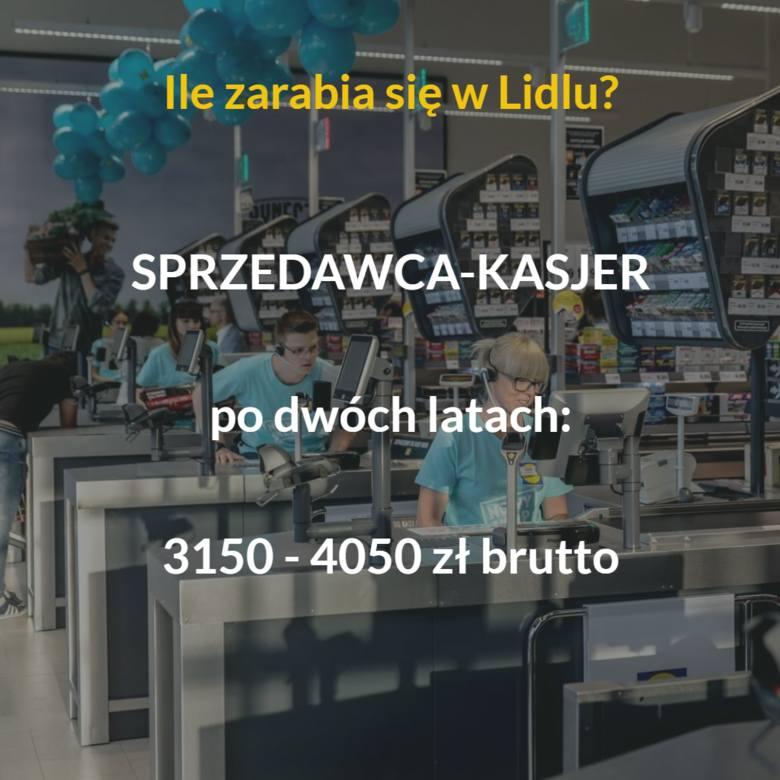 Lidl ma w Polsce ponad 600 sklepów. Niemiecka sieć zatrudnia kilkanaście tysięcy osób. Wynagrodzenia są jednymi z najwyższych w branży spożywczej. Ile