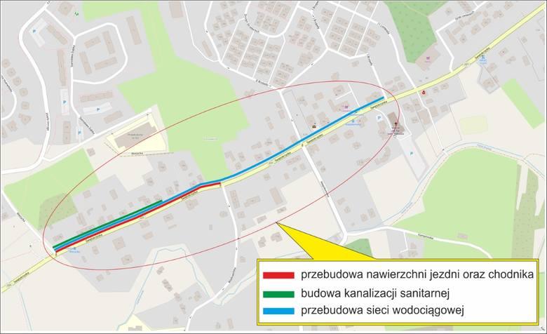 Remont ulicy Świętokrzyskiej przez kilka tygodni powodował ogromne korki w południowych dzielnicach Gdańska