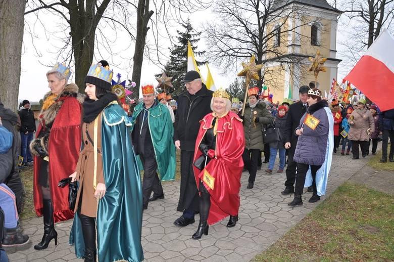 Wspaniały Orszak Trzech Króli w Czyżowie Szlacheckim w gminie Zawichost (ZDJĘCIA)