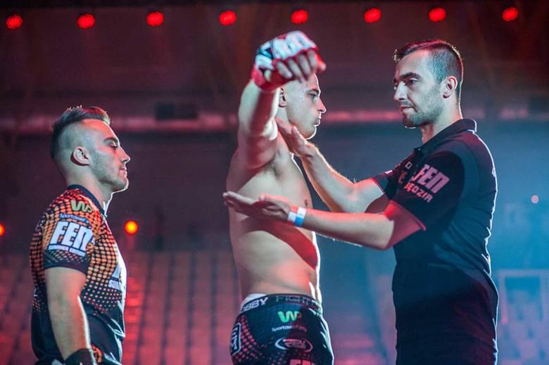 W sobotę 12 sierpnia w Hali Widowiskowo-Sportowej odbyła się 18 gala Fight Exlusive Night, podczas której obejrzeliśmy  11 walk w formule MMA oraz jeden