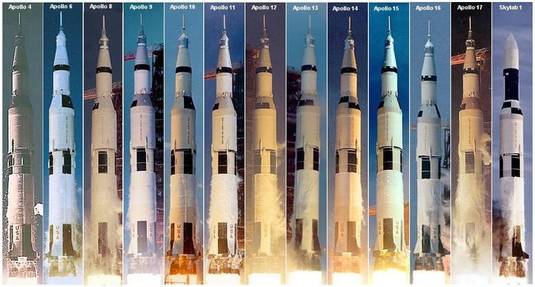 Rodzina rakiet Saturn V.