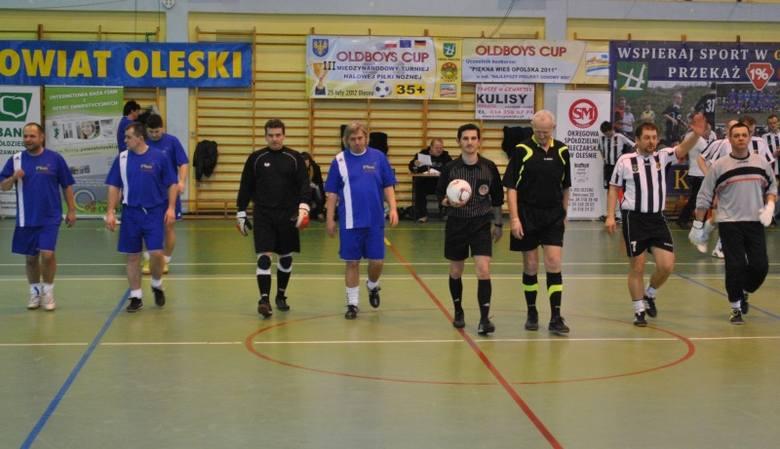 III Międzynarodowy Turniej Halowej Piłki Nożnej Oldboys Cup 2012
