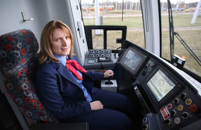 Małgorzata Zuchmańska, Agnieszka Kruk i Renata Paradowska wożą łodzian tramwajami.