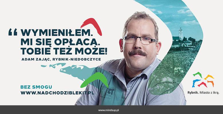 Rybnik: Nadchodzi błękit czyli nowa kampania walki ze smogiem [BILLBOARDY]