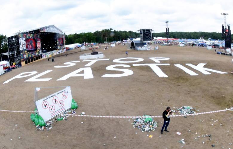 W tym roku organizatorzy Pol'and'Rock festiwalu postawili sobie za cel, by uczestnicy zabawy nie generowali tylu odpadów co w poprzednich latach. Ale