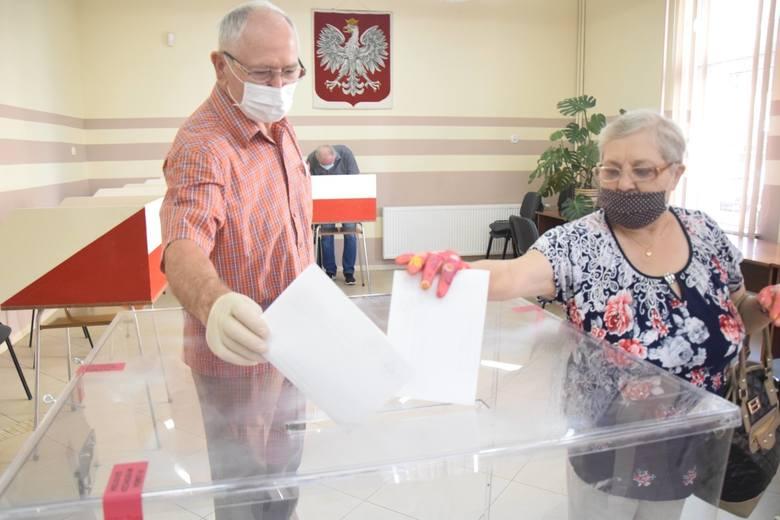 Wybory prezydenckie 2020. Głosowanie w Malborku