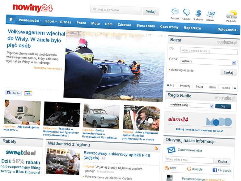 Nowa wersja portalu nowiny24.pl