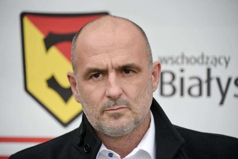 Michał Probierz, pochodzący ze Śląska trener doprowadził zespół do największych sukcesów w historii klubu