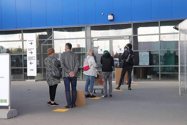 Port Łódź oraz IKEA znów otwarte dla klientów.