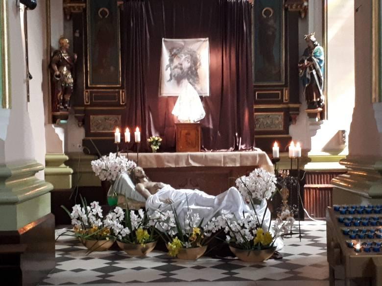 Wielkanoc to dla chrześcijan bardzo szczególny czas. W kościołach przygotowano Groby Pańskie. Odwiedziliśmy łódzkie świątynie. Zobaczcie, jak wyglądają