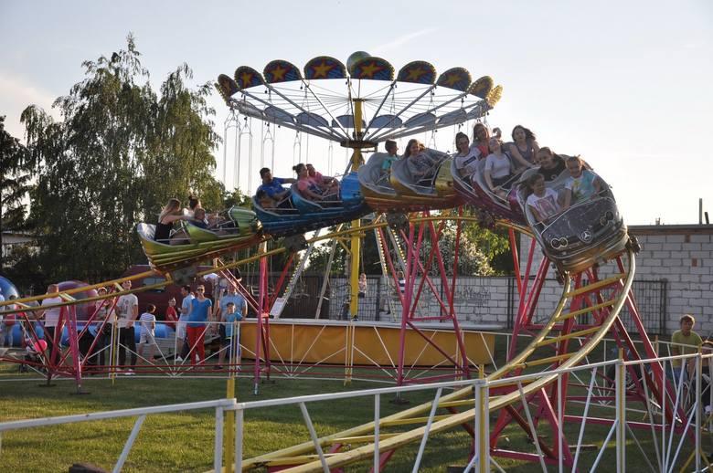Ale Dni Przasnysza 2016 to nie tylko koncerty. Dzieciom podobały się zwłaszcza atrakcje na wesołym miasteczku.