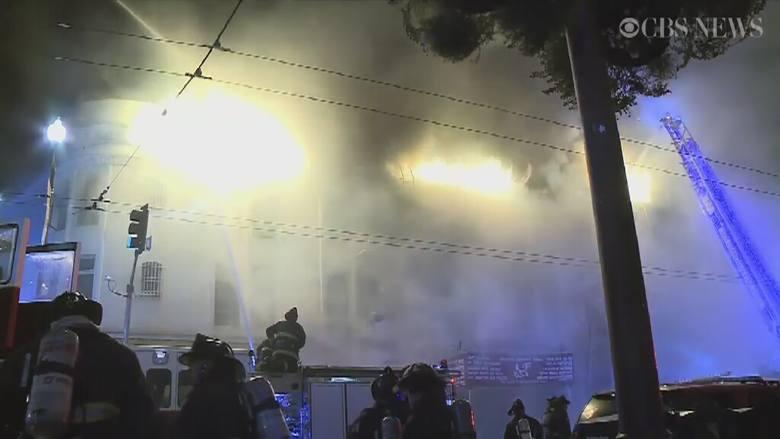 San Francisco. Ogromny pożar apartamentowca (wideo)