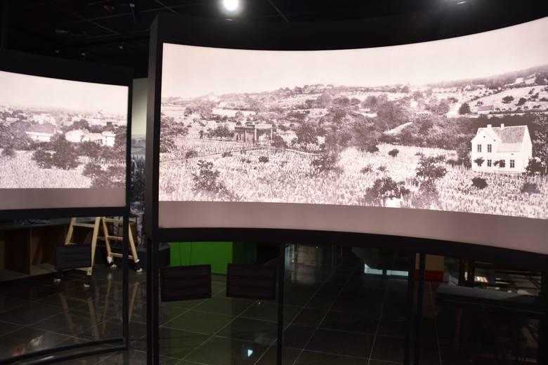 """""""Ślimak"""" w nowej części Muzeum Ziemi Lubuskiej w Zielonej Górze."""