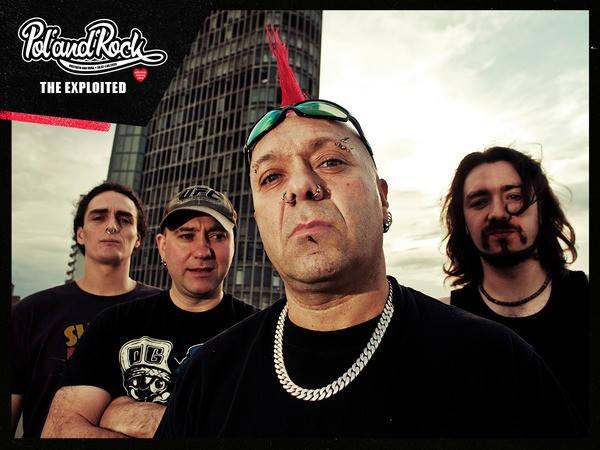 The Exploited wystąpi na Pol'and'Rock Festiwalu 2020.
