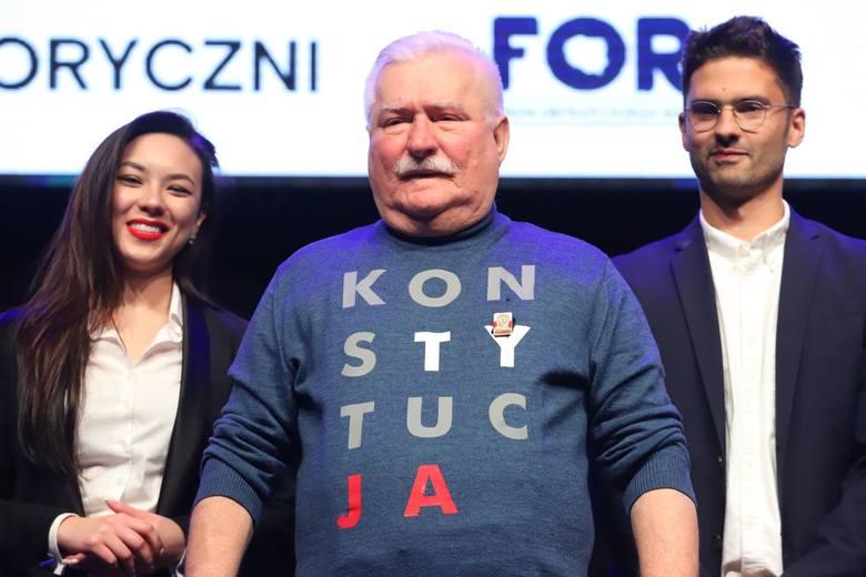 Lech Wałęsa oświadczył, że nie przeprosi za swoje słowa o zmarłym niedawno Kornelu Morawieckim. Były prezydent oznajmił również, że w najbliższych wyborach