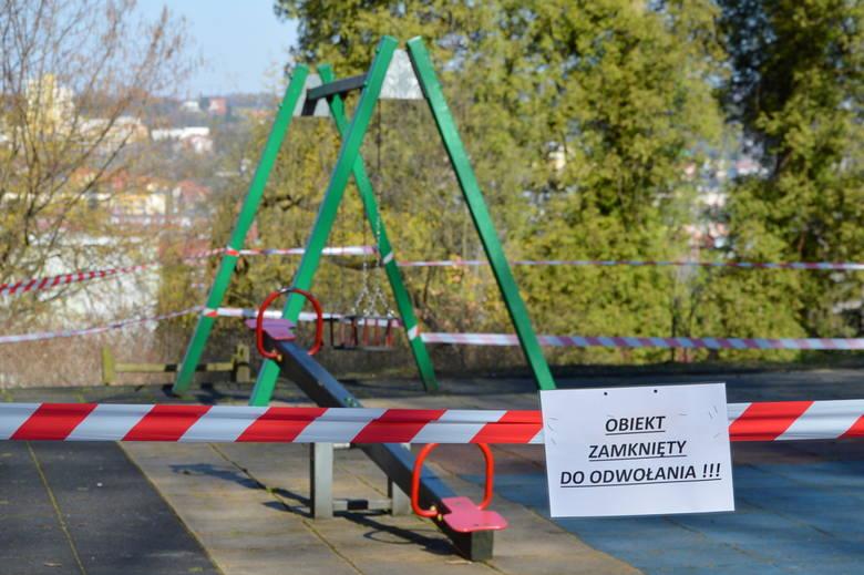 Od wtorku zamknięte są place zabaw i siłownie plenerowe w Przemyślu.