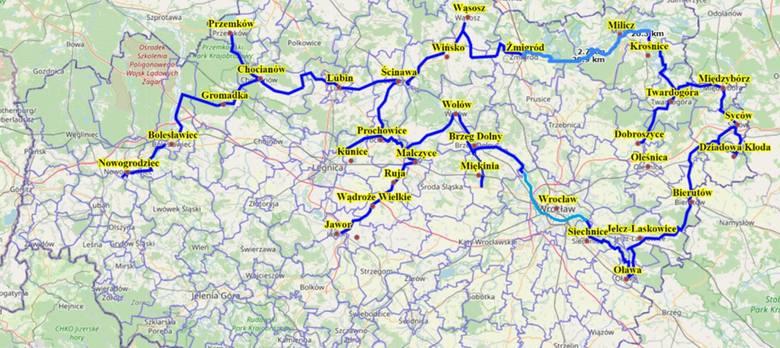 Dolny Śląsk: Ta autostrada ma mieć 500 km. Pojadą nią rowerzyści!