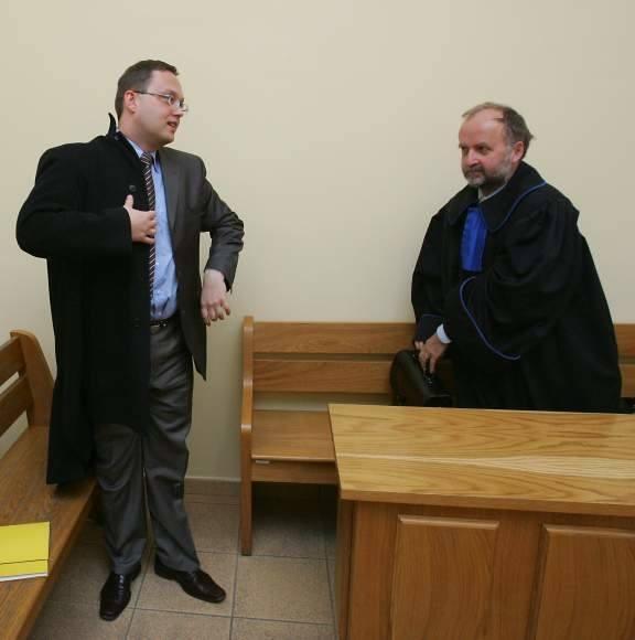 Beniamin Chochulski (na zdjęciu z lewej)