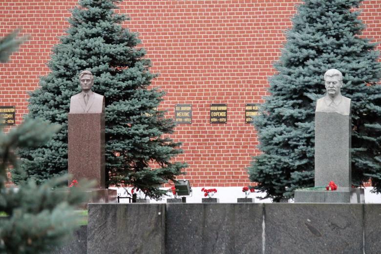 Plac Czerwony. Grób Józefa Stalina.