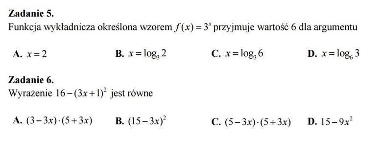 Matura 2017. Matematyka - jesteś dobrze przygotowany? Sprawdź!