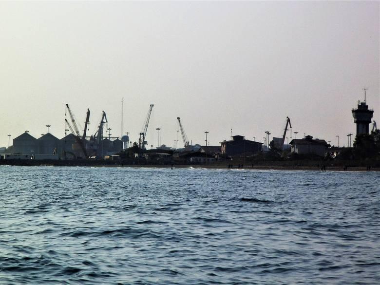 Port w Anzali. Podobny widok zobaczyli polscy zesłańcy w 1942 roku