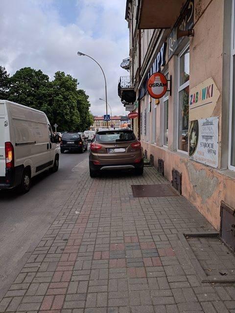 Ulica Sobieskiego w Rzeszowie.