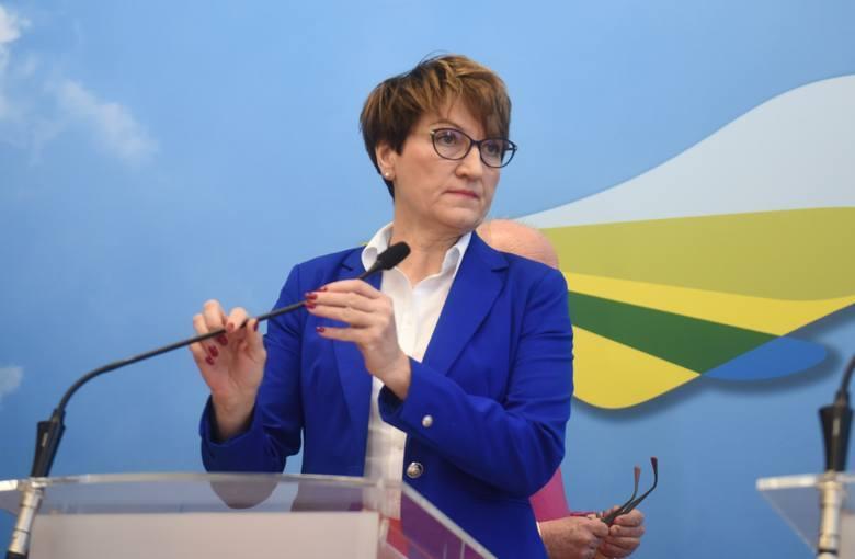 Elżbieta Polak, marszałek województwa lubuskiego