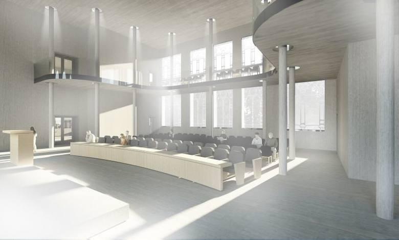 Ul. Branickiego 3. Radni będą mieli szklaną siedzibę (zdjęcia, wideo)