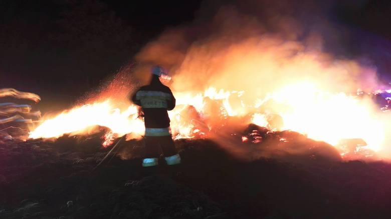 pożar w Kostrzynie