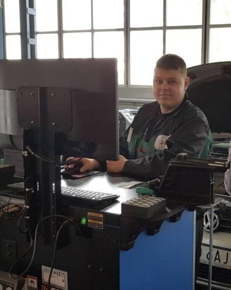 Mechanik Roku Michał DidoszakAuto Service Żukowski, Koszalin
