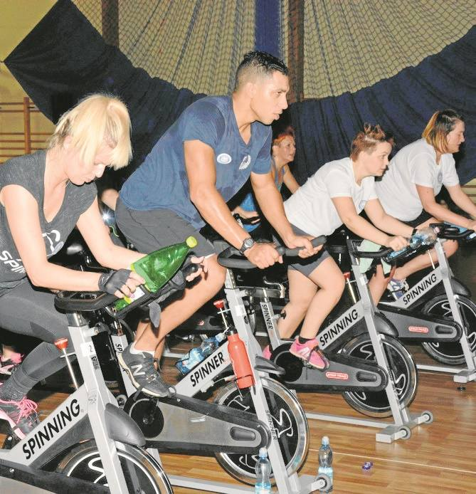 Charytatywny maraton fitness w Drawsku Pomorskim