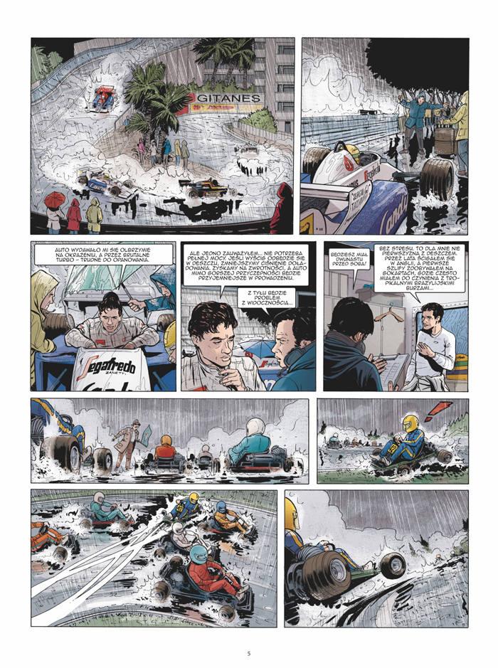 Ayrton Senna – Historia pewnego mitu [RECENZJA KOMIKSU]